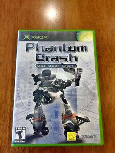 Phantom Crash (Microsoft Xbox, 2002) GOOD COMPLETE MAIL TOMORROW