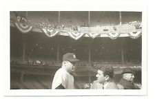 MICKEY MANTLE PHOTOGRAPH 4X3 INCH B&W OCT 12, 1964 WORLD SERIES GAME 5 ORIGINAL