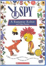 New I Spy A Runaway Robot and Other Stories DVD Preschool Childrens Game TV Show