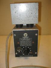 VINTAGE GT-21 MOTOR CONTROLLER W/TUBES