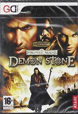 PC Gioco  **DEMON STONE ~ FORGOTTEN REALMS ~ DUNGEONS DRAGONS** Nuovo Originale
