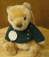 """Gund Mohair Collection #9511 JEFFREY, 7"""" Jointed NEW/Tag From Retail Store, LE"""