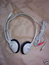 Auriculares estéreo con micrófono giratorio de Computadora Skype Usar etc OM0802