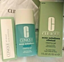 CLINIQUE ACNE SOLUTIONS CLINICAL CLEARNING GEL-FULL SIZE-NIB- W/SALICYLIC ACID
