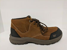Caterpillar Resolve Mid Industrial Shoes, Brown, Mens 7.5 Wide