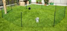"""PREMIUM QUALITY 25"""" H 164' long Electric Rabbit Netting Green with 2.3 inch hole"""