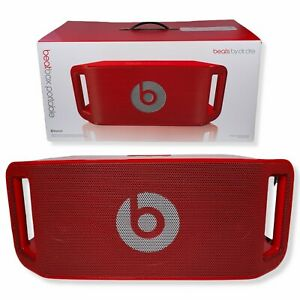 Beats by Dr Dre Beatbox Portable Bluetooth Speaker with iPhone Dock - Red