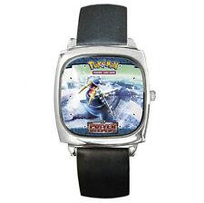 Artic Ocean Walrus Pokemon Walrein leather watch