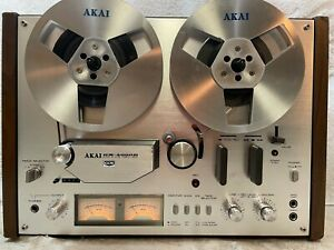 AKAI GX-4000D STEREO TAPE DECK REEL TO REEL  # 90  - EXCELLENT !!!