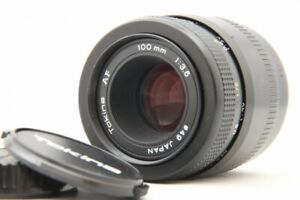 Excellent++ Tokina AF 100mm F/3.5 MACRO Lens for SONY A Mount from Japan #1682