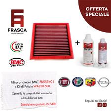 Filtro Aria Sportivo BMC Originale FB555/01 + KIT Pulizia WA250-500