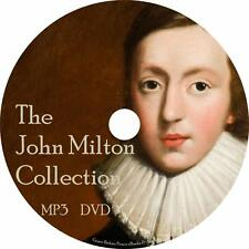 John Milton Audiobook Collection in English on 1 MP3 DVD Paradise Lost Free Ship