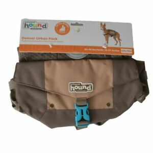 LM Outward Hound Denver Urban Pack for Dogs - Brown Small/Medium - 25-55 lbs - (