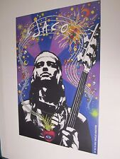 Jaco Pastorious Large  Poster 24X36 Official RSD 2014 Heavy Stock Cardboard NEW