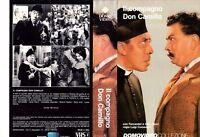Il Compagno Don Camillo (1954) VHS DomoVideo 1a Ed.  Fernanel Cervi