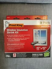 Window Insulation Kit Indoor Shrink Film Energy Saving Efficiency Weatherstrip