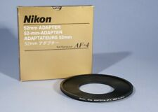 Nikon 52mm Adapter For AF-4 * Gelatine Filter Holder * MINT Condtion