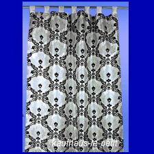 Schlaufenschal Gardine Vorhang blickdicht Fenster Store Übergardine Dekoschal