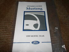 1999 FORD MUSTANG GT COBRA ALL NEW CORRECT FACTORY OWNERS OPERATORS MANUAL NICE!