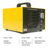 7000mg Ozone Generator Machine Ionizer O3 Air Purifiers for Home Smoke Remover