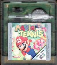 - Mario Tennis Gameboy Color (Advance, SP) - akzeptabel -