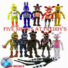 """AU Stock 2020 Fnaf Five Nights at Freddy's 6"""" Action Figures With LED Light Toys"""