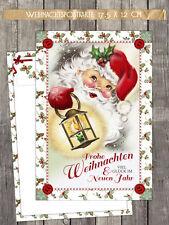"""10 Weihnachtskarten  """"Christmas Eve"""" Postkarte 17,5 x 12 cm, NEU!!!"""