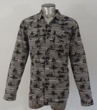 Tavik modern beach visionary men's woven summer beach button-down shirt XL new
