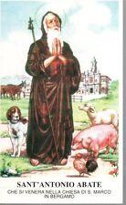 289 Sant'Antonio Abate Santino Holycard