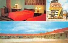 Tupper Lake New York Tupper Lake Motel Room Interior Vintage Postcard JE229626