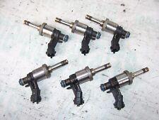 2008-2011 CADILLAC CTS STS OEM 6X PIECES FUEL GAS INJECTORS 3.6L V6 12611545