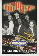 The Ohio Players promo postcard 2001 Nyc concert never used