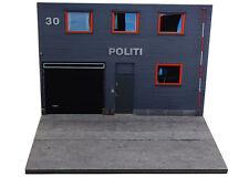 Diorama présentoir Police Norvège / Norsk Politi - 1/43ème - #43-2-B-B-020