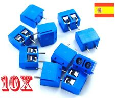 10x Bloque Terminal Clema Conexion 2 pines PCB - SCREW TERMINAL BLOCK 2   107