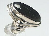 Jugendstil Silber Ring 925 punziert Meisterpunze Polen/Gdansk  RG 57/18,1mm/A762