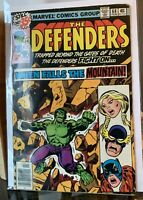 The DEFENDERS #68 HULK Nighthawk vtg Marvel Stan Lee 1979