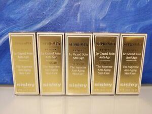 Sisley SUPREMYA - Anti-Aging Skin Care / Lot 5 pcs / 2ml (each)