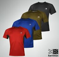 Mens Karrimor Short Sleeve Tech T Shirt Crew Neck Top Sizes from S to XXL