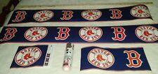 Boston Red Sox Wallpaper Border-1 full 5 yard roll+a 1 yard piece+a 2 yd piece+