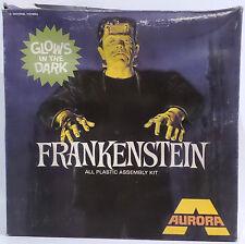 Frankenstein HORROR: KIT modello realizzato da Aurora circa anni 1970-KIT MOLTO RARA