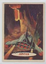 1957 Topps Space Cards #81 Jupiter's Terrain Non-Sports Card 0s4