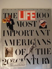 Life Magazine 100 MOST IMPORTANT AMERICANS 20th CENTURY- 1990 SPECIAL EDITION
