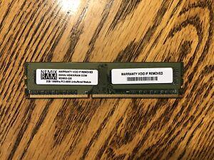 Nemix Ram 2GB DDR3 1066 PC3 8500 Desktop Memory Per Each