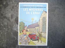 """1 carte postal """"expo BD Black et Mortimer au Mans"""""""