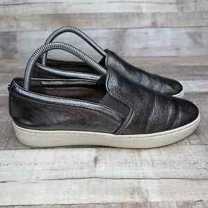 Michael Kors Womens Leather Slip On Loafer Shoe 8M