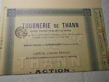 1921 ACTION 500F TOURNERIE THANN @ SUP DECO VERT @