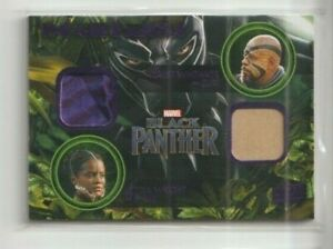 Black Panther Costume Trading Card #KD-ZS Whitaker Wright (A)