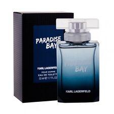 Karl Lagerfeld Paradise Bay Edt Eau de Toilette Spray for Men 50ml NEU/OVP