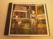 PUBLIC IMAGE LIMITED - LIVE IN TOKYO - CD