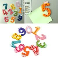 Wood Cute Fridge Magnet Alphabet Animal Numbers Early Educational Toys T8A8 V9X3